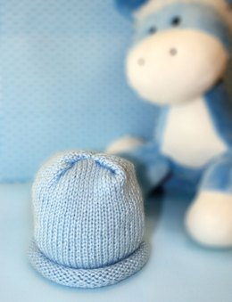 Preemie Hat in Bernat Softee Baby Solids