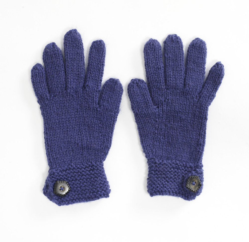 Knitting Pattern For Gloves 4 Ply : Fledgling Gloves in Lion Brand Wool-Ease - 90370AD ...