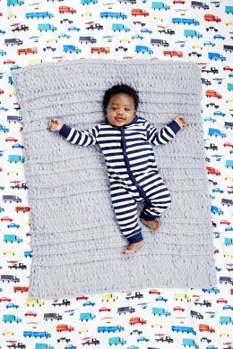 Waverly Baby Blanket in Lion Brand Off The Hook - L80298b - Downloadable PDF