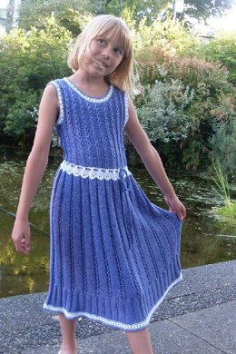 Summer Snowdrop Dress