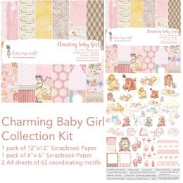 Dress My Crafts Collection Kit - Charming Baby Girl