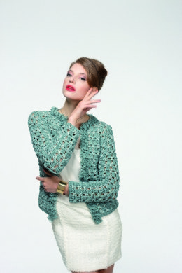 Jacket in Schachenmayr Cabaré and Pearl - 2047 - Downloadable PDF