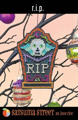 Satsuma Street RIP Cross Stitch Kit