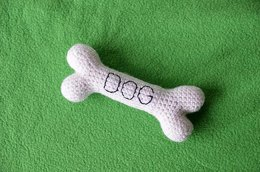 Dog Bone Amigurumi Crochet Pattern