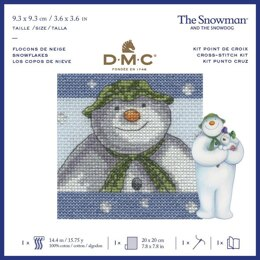 DMC The Snowman - Snowflakes Cross Stitch Kit