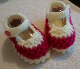 Baby 'Zoe' Shoes 0-3, 3-6, 6-9mths