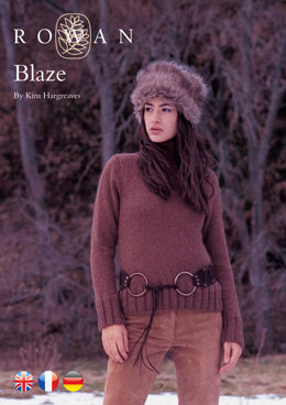 Blaze Sweater in Rowan Kid Classic