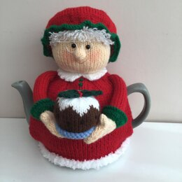 Mrs Claus tea cosy