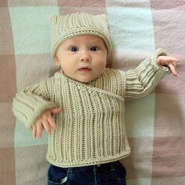 Knit-Look Crocheted Pullover