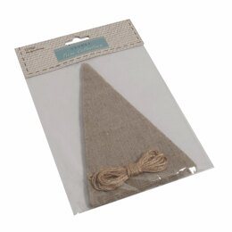 GrovesTrim Collection Make-Your-Own Bunting Kit: Linen: NaturalEmboideryKit