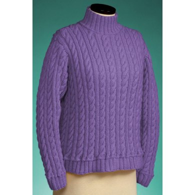 Cable and Rib Turtleneck #119