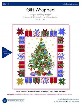 Windham Fabrics Gift Wrapped - Downloadable PDF