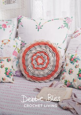 Petal Power Cover in Debbie Bliss Cashmerino Aran - DBS059 - Downloadable PDF