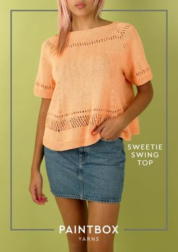 Sweetie Swing Top in Paintbox Yarns Cotton DK - Downloadable PDF