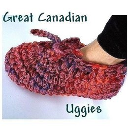 Great Canadian Uggies - Crochet Slippers Pattern - Warm and Cosy! |by Ashton11
