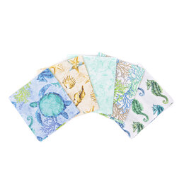 Visage Textiles Ocracoke Island Fat Quarter Bundle - Multi