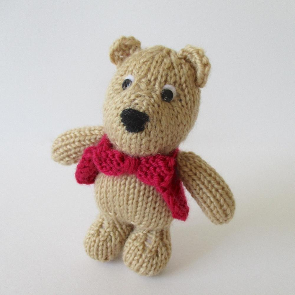 George Bear Knitting pattern by Amanda Berry