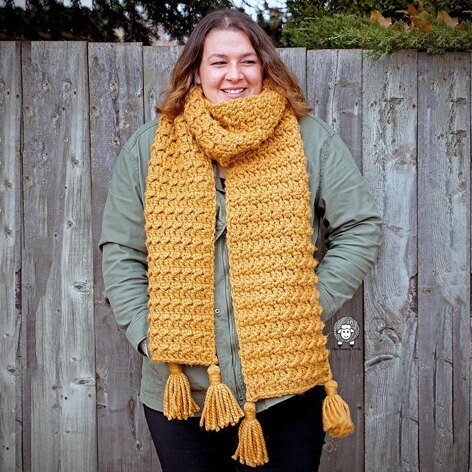 The Heather Super Scarf