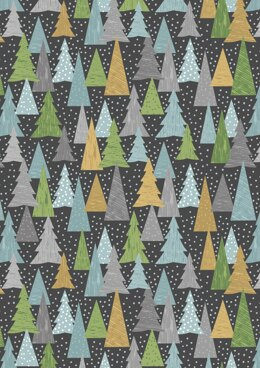 Lewis & Irene Hygge Christmas Trees Slate Cut to Length