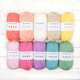Paintbox Yarns Simply Chunky 10 Ball Colour Pack Designer Picks