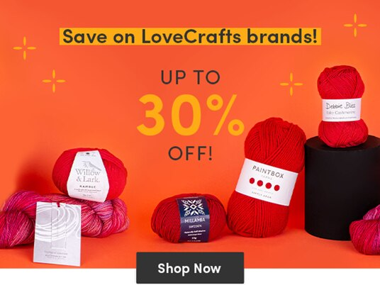 Up to 30 percent off our own brands!
