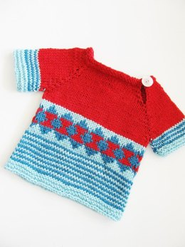 Scrap Sweater for the Small ones
