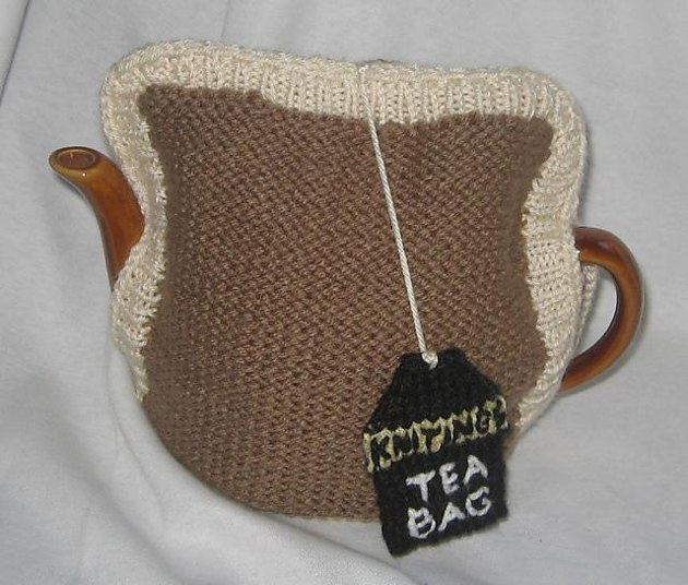 Tea Bag Tea Cosy Knitting pattern by Rian Anderson ...