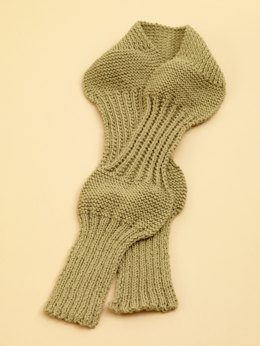 Rib Sampler Scarf in Lion Brand Wool-Ease - 70530AD