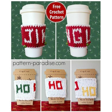 Holiday Graphic Cup Cozy