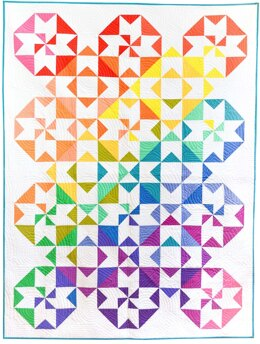 Michael Miller Fabrics Colorwheel Quilt Kit