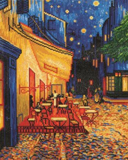 Diamond Dotz Café at Night (Van Gogh) Diamond Dotz Kit