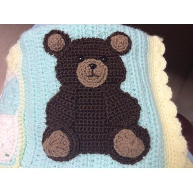 Bear and Paw Print Appliques