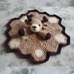 Freddy The Fawn Baby Deer Lovey Security Blanket
