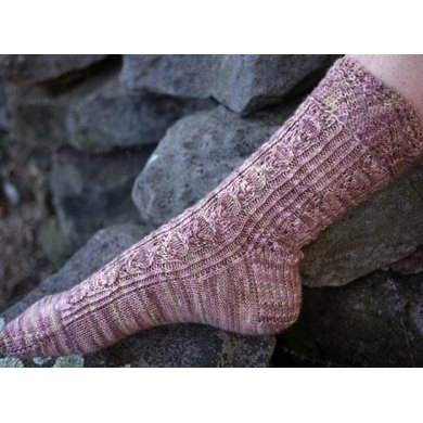 Cherry Pie Sock