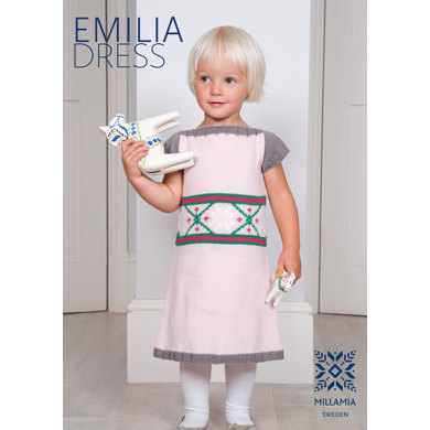 Emilia Dress in MillaMia Naturally Soft Merino