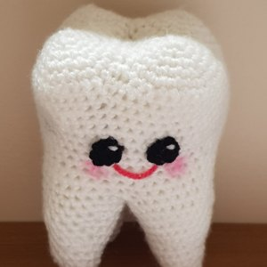 Free Tooth Fairy Crochet Pattern - Hooked On Patterns | 300x300