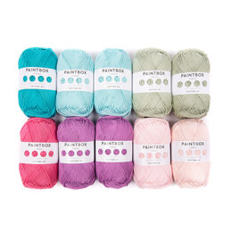 Paintbox Yarns Cotton DK 10 Ball Color Pack - Designed by You