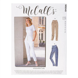 McCall's #AbbieMcCalls - Misses' Pants M8045 - Sewing Pattern