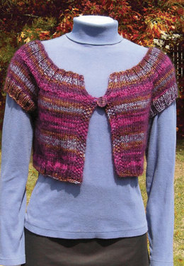 Quick Cover Up in Knit One Crochet Too Ty-Dy Wool - 1648