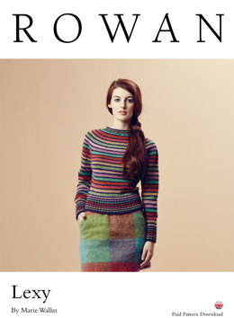 Lexy Sweater in Rowan Pure Wool Worsted
