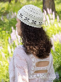 Wildflower Romance - A Lace Summer Hat