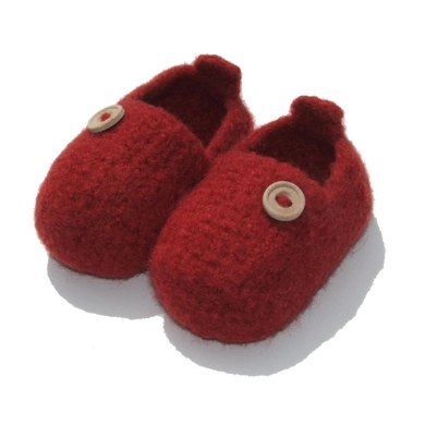 Felted Baby Slip-ons
