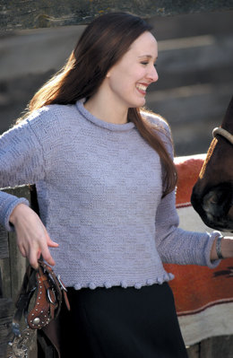 Jingle-bob Sweater in Imperial Yarn Columbia 2-ply - 107 - Downloadable PDF