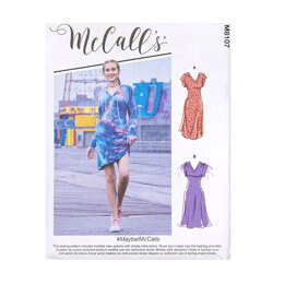 McCall's Misses' Dresses M8107 - Sewing Pattern