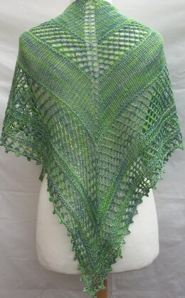 Willowberry Shawlette