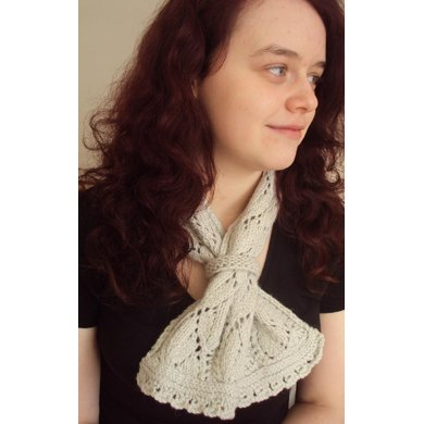 Bellflower Lace Scarf