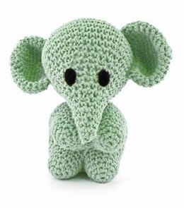 Elephant Mo Toy in Hoooked Eco Barbante