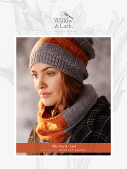Hat knitting patterns loveknitting tilly hat cowl in willow and lark ramble downloadable pdf dt1010fo