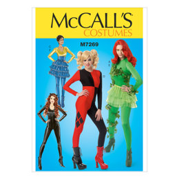 McCall's Misses' Costumes M7269 - Sewing Pattern