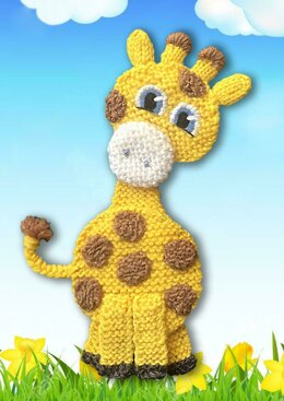 Knitted Giraffe Applique
